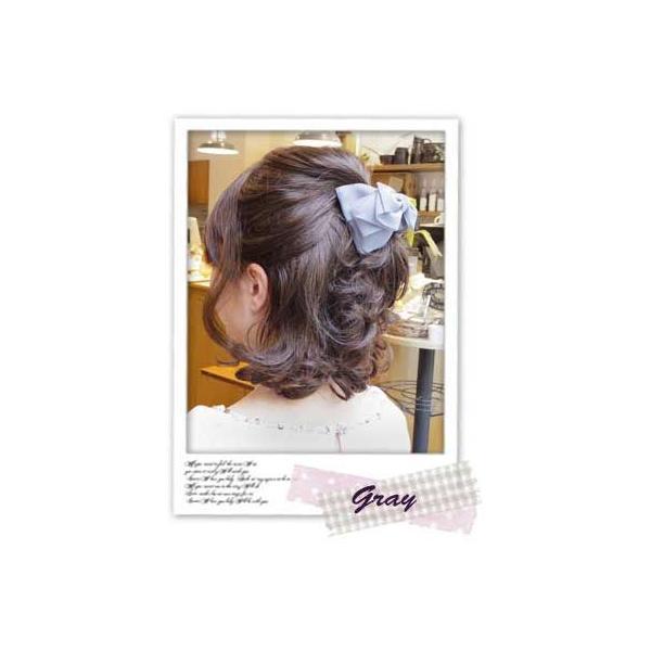 バンスクリップM ローレッタ 簡単ヘアアレンジ ヘアアクセサリー 髪飾り リボン|hair|02