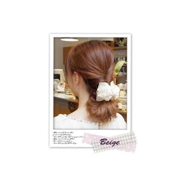 バンスクリップM ローレッタ 簡単ヘアアレンジ ヘアアクセサリー 髪飾り リボン|hair|03