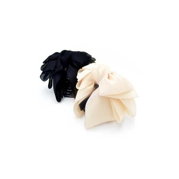 バンスクリップM ローレッタ 簡単ヘアアレンジ ヘアアクセサリー 髪飾り リボン|hair|06