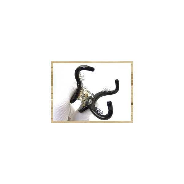 MarbleMarbleバンスクリップ 3本足 べっ甲風 アセテート ヘアアクセサリー ラインバンス・スリム|hair|06