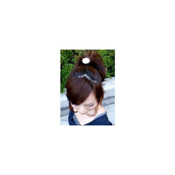 ヘアゴム 簡単ヘアアレンジ ヘアゴム ラウンドオセロ ヘアアクセサリー ゆうパケット対応 hair 02
