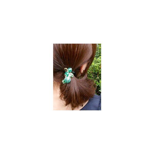 ヘアゴム 簡単ヘアアレンジ ヘアゴム ボーテ ヘアアクセサリー ゆうパケット対応|hair|02