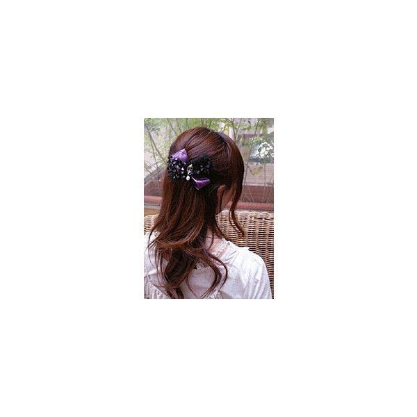 バレッタ 盛り髪 バレッタ トゥルネ ヘアアクセサリー|hair|02