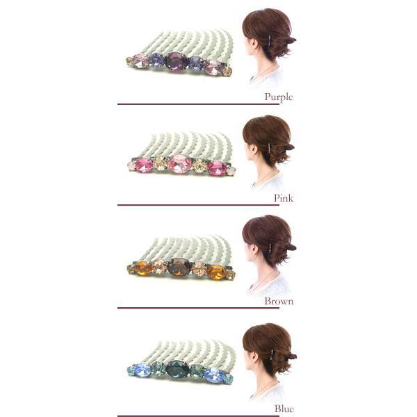 コーム/夜会巻き/ラ/パージュ10本櫛MBインナーコームセット/ヘアアクセサリー ゆうパケット対応|hair|02