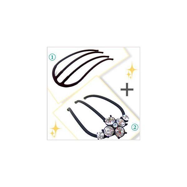 コーム/夜会巻き/Eスティック/アンナ/マリー&EスティックプラスProセット/ヘアアクセサリー|hair|03