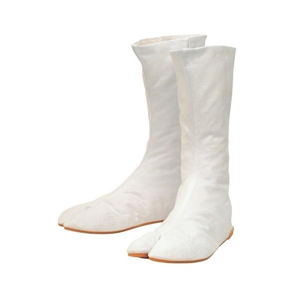 丸五 地下足袋 万年縫付12枚(縫付タイプ) 白 25.5cm