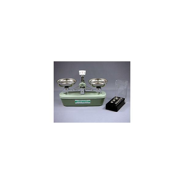 村上衡器 MS-100 普通型上皿天びん 分銅付セット ひょう量100g 感量100mg 日本製 MURAKAMI|hakaronet