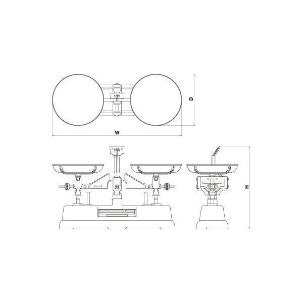 村上衡器 MS-1 普通型上皿天びん 天びん本体のみ ひょう量1kg 感量1g 日本製 MURAKAMI|hakaronet|02