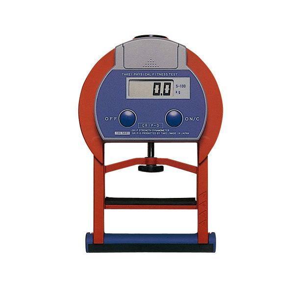 竹井機器工業 グリップD デジタル握力計 T.K.K.5401 日本製 TAKEI|hakaronet