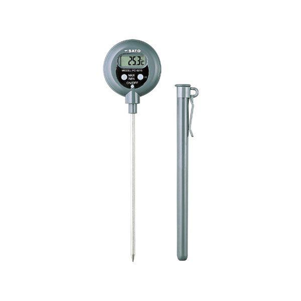 佐藤計量器SATO防水型デジタル温度計PC-9215II No.1747-50