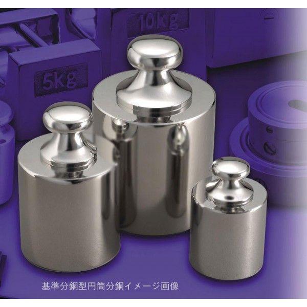 新光電子 基準分銅型円筒分銅 非磁性ステンレス製 F1級 2g|hakaronet|02