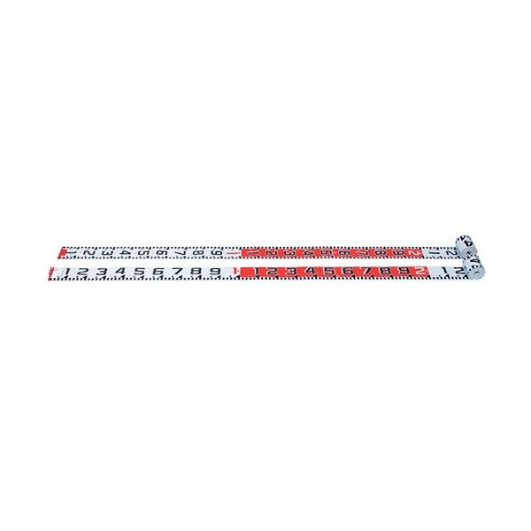 ヤマヨ 現場記録写真用巻尺 リボンロッド両サイド 100mm幅-E1-30m
