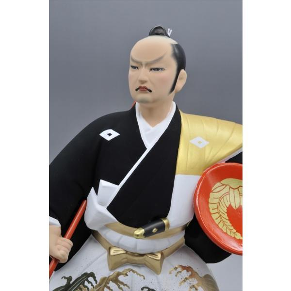 博多人形 【黒田武士(G)】 「黄金の国の侍」御祝の代表格・伝統工芸博多人形|hakata-honpo|04