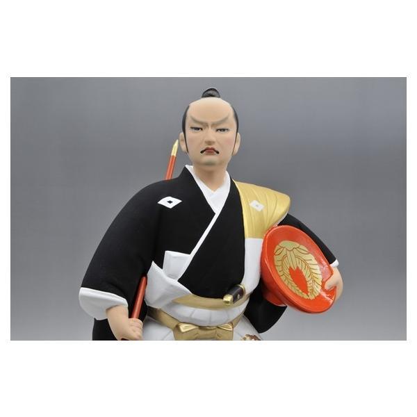 博多人形 【黒田武士(G)】 「黄金の国の侍」御祝の代表格・伝統工芸博多人形|hakata-honpo|05