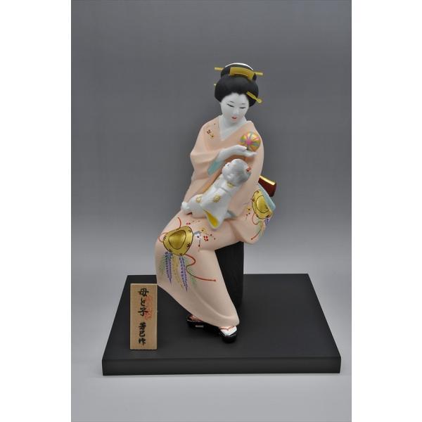 博多人形 【母と子】  湧き溢れる《親子愛》 ・・・|hakata-honpo