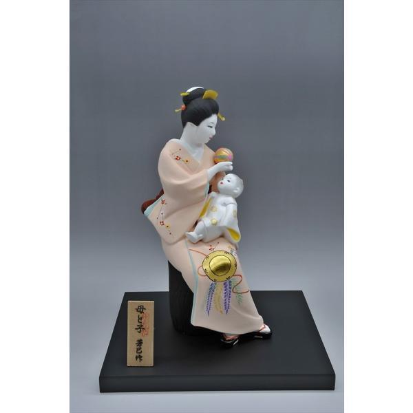 博多人形 【母と子】  湧き溢れる《親子愛》 ・・・|hakata-honpo|03