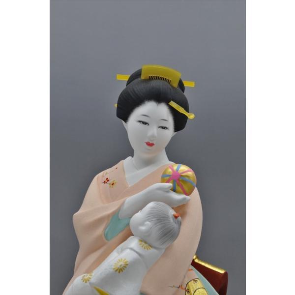 博多人形 【母と子】  湧き溢れる《親子愛》 ・・・|hakata-honpo|04
