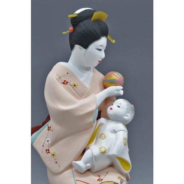 博多人形 【母と子】  湧き溢れる《親子愛》 ・・・|hakata-honpo|05