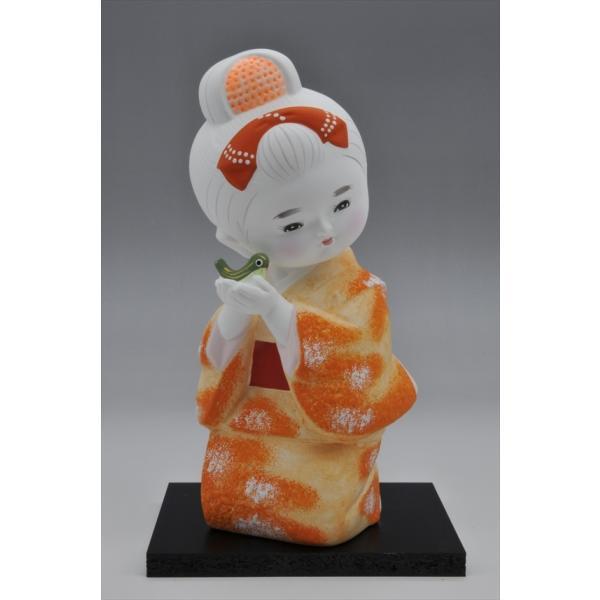 博多人形 【少女うぐいす】 ま〜可愛い!!|hakata-honpo|02