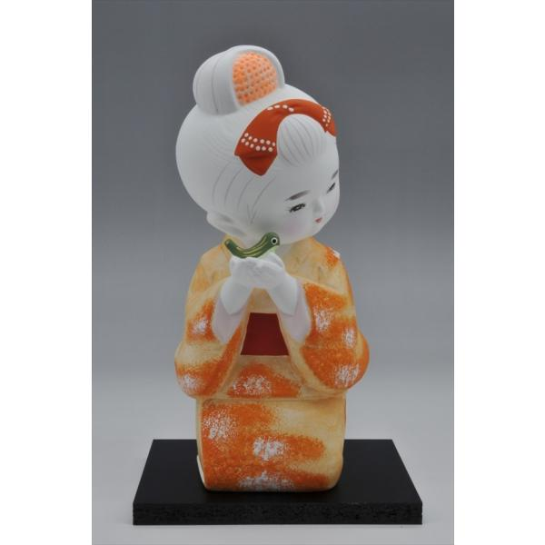 博多人形 【少女うぐいす】 ま〜可愛い!!|hakata-honpo|03