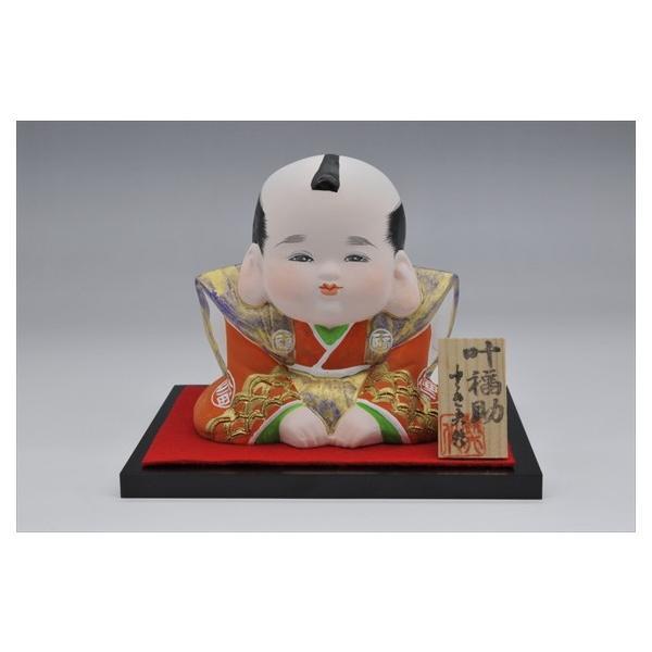 博多人形 【叶福助】 福よ来い来い!!福招き!! hakata-honpo