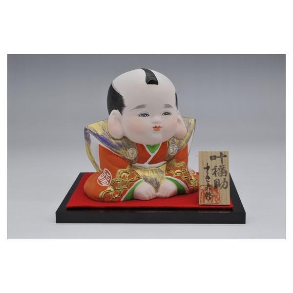 博多人形 【叶福助】 福よ来い来い!!福招き!! hakata-honpo 02
