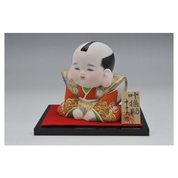 博多人形 【叶福助】 福よ来い来い!!福招き!! hakata-honpo 03