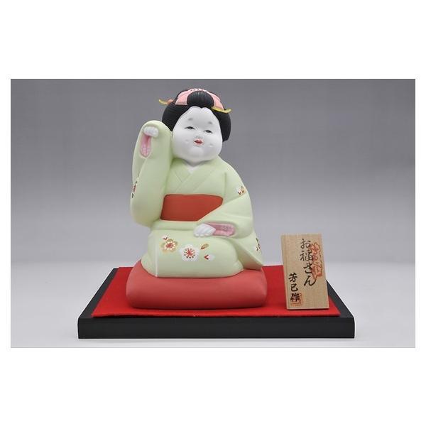博多人形 【招きお福さん】 福よ来い来い!!福招き!!|hakata-honpo