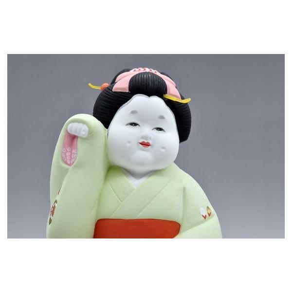 博多人形 【招きお福さん】 福よ来い来い!!福招き!!|hakata-honpo|02