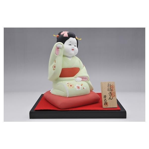 博多人形 【招きお福さん】 福よ来い来い!!福招き!!|hakata-honpo|03