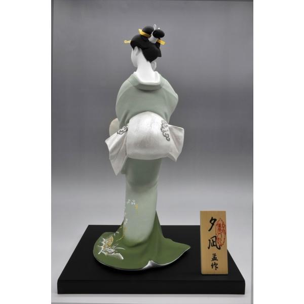 博多人形 【夕 凪】 博多人形でも珍しい、夏の美人物。優雅な姿に〜うっとり・・・|hakata-honpo|05