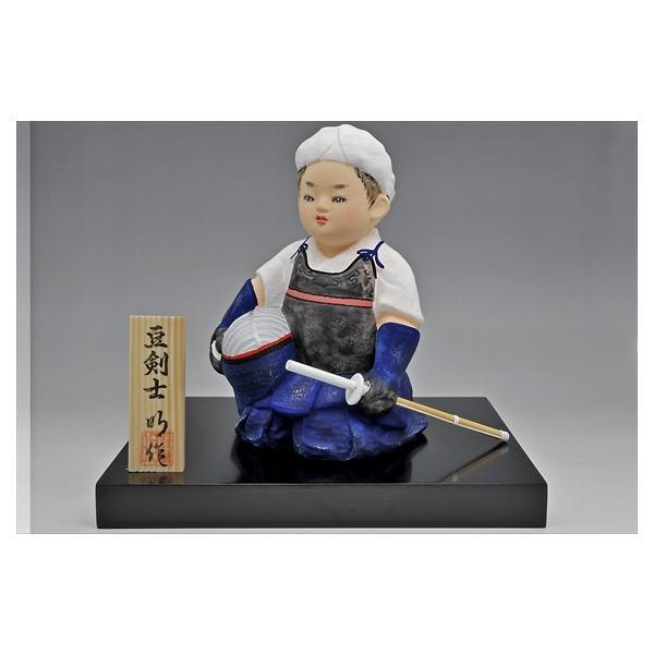 博多人形 【.豆剣士】 〜凛々しい姿で、夢いっぱい〜|hakata-honpo|02