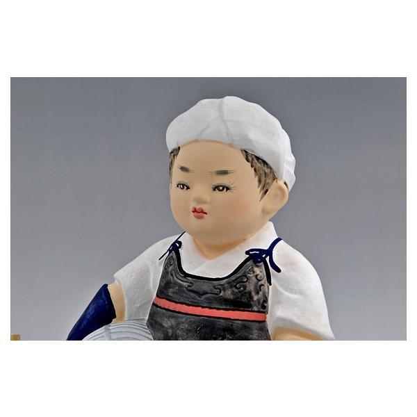 博多人形 【.豆剣士】 〜凛々しい姿で、夢いっぱい〜|hakata-honpo|05