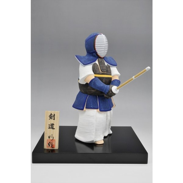 博多人形 【剣道】 日本人の魂「剣道」・・・大会の記念品に、また、お子様・お孫様に。|hakata-honpo|02
