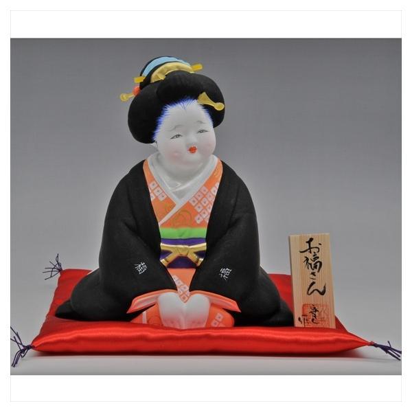 博多人形 【お福さん】一番売れているお福さん!! hakata-honpo