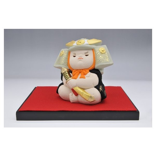 博多人形 【童大将】 凛々しさと可愛らしさが同居しています hakata-honpo 02
