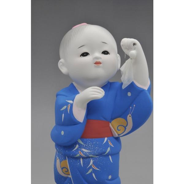 博多人形 【てるてる坊主】忘れていませんか・・童謡・・あ〜した天気にしておくれ〜 hakata-honpo 02