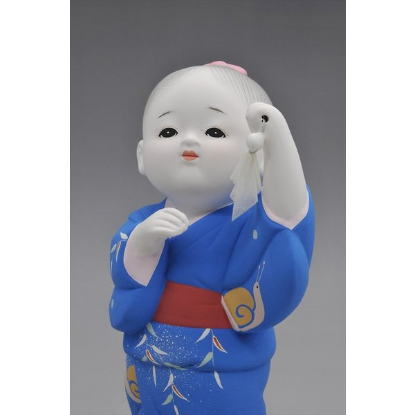 博多人形 【てるてる坊主】忘れていませんか・・童謡・・あ〜した天気にしておくれ〜 hakata-honpo 03