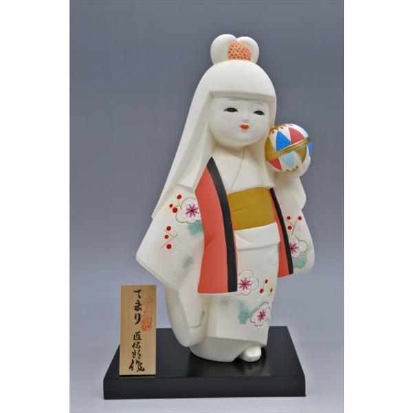 博多人形 【てまり】 博多人形の代表「乙女物」。愛らしいお顔が、お部屋を明るくしてくれます。|hakata-honpo|02