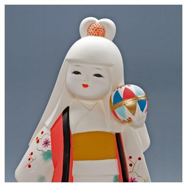 博多人形 【てまり】 博多人形の代表「乙女物」。愛らしいお顔が、お部屋を明るくしてくれます。|hakata-honpo|03