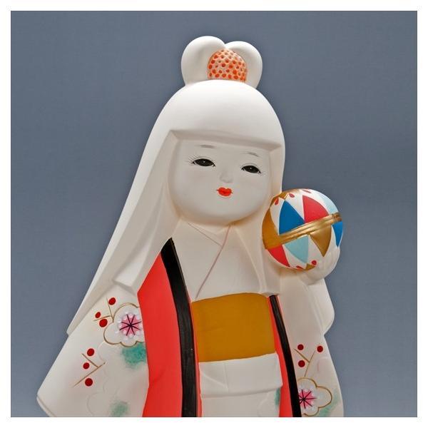 博多人形 【てまり】 博多人形の代表「乙女物」。愛らしいお顔が、お部屋を明るくしてくれます。|hakata-honpo|04