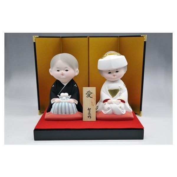 博多人形 【愛 (花嫁・花婿)】 人生で一番幸せな時・・・無垢な博多人形です。|hakata-honpo