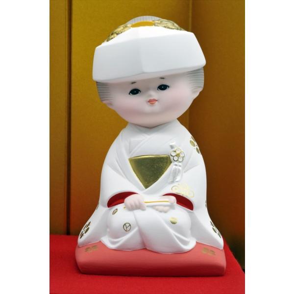 博多人形 【愛 (花嫁・花婿)】 人生で一番幸せな時・・・無垢な博多人形です。|hakata-honpo|03