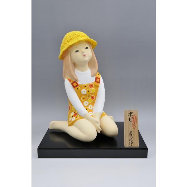 博多人形 【ポピー】 可愛らしい夏の少女|hakata-honpo|02