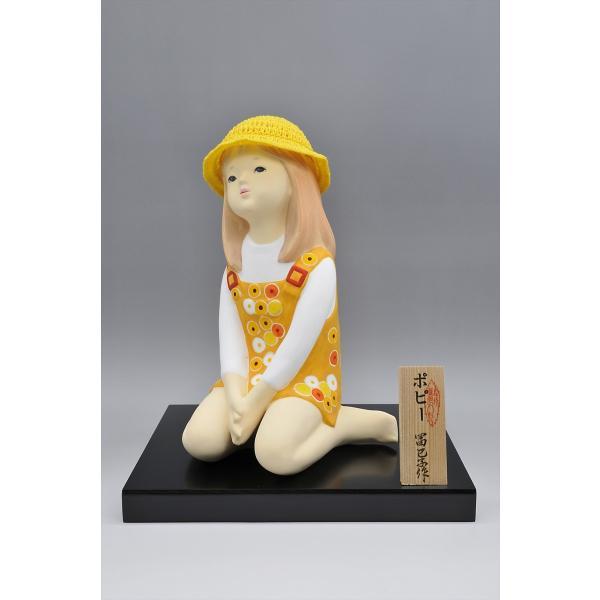 博多人形 【ポピー】 可愛らしい夏の少女|hakata-honpo|03