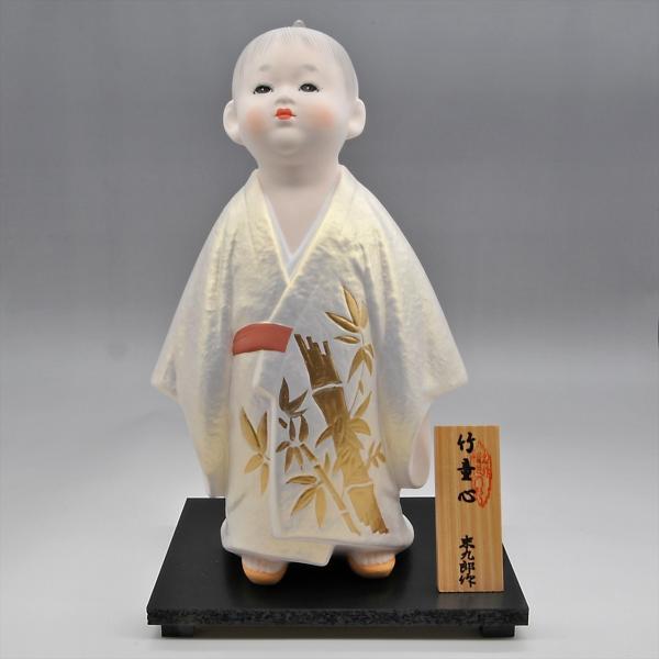 博多人形   【竹童心】すくすくと育て hakata-honpo