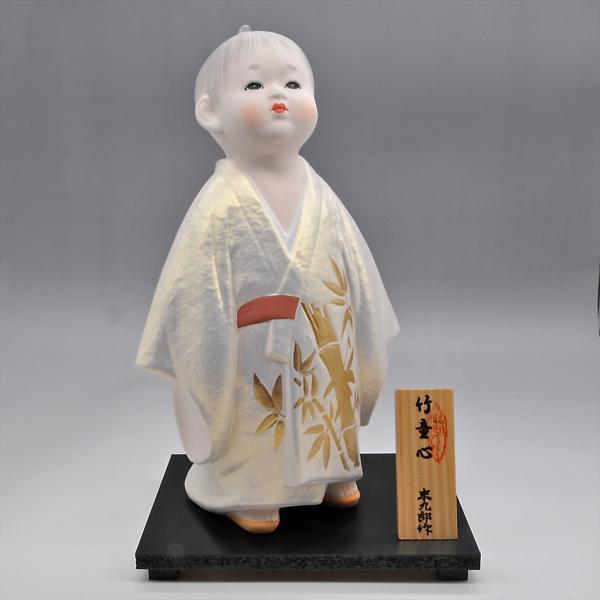 博多人形   【竹童心】すくすくと育て hakata-honpo 02