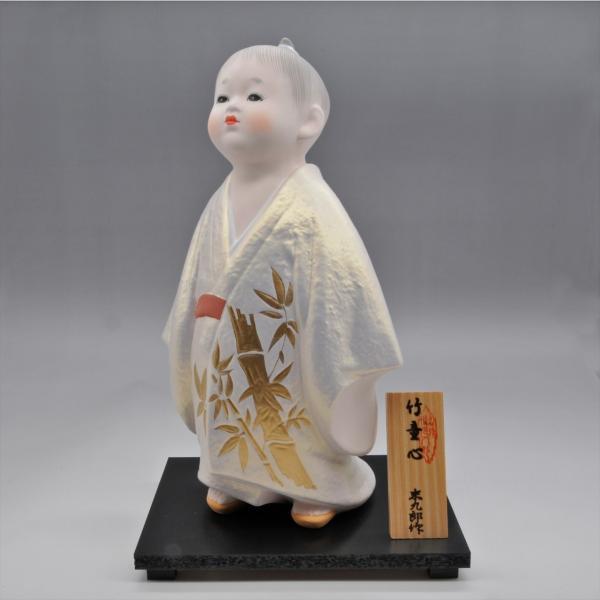 博多人形   【竹童心】すくすくと育て hakata-honpo 03