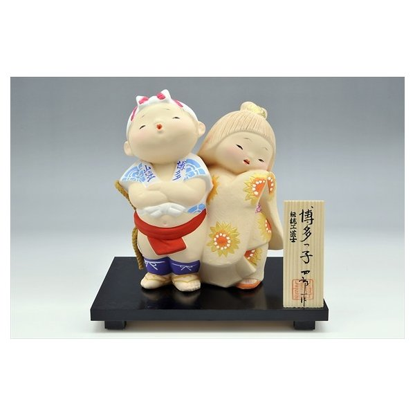 博多人形 【博多っ子】 「山笠」「オッショイ!!!」|hakata-honpo