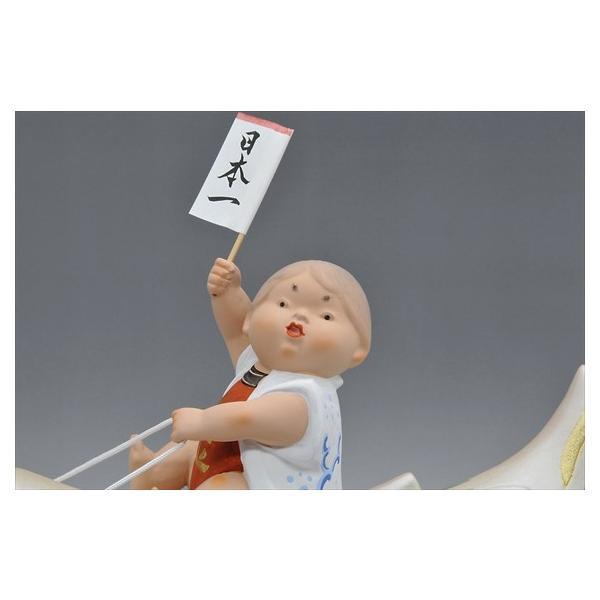 博多人形 【青空高く(赤)】 元気いっぱい!!夢いっぱい!!五月人形|hakata-honpo|04